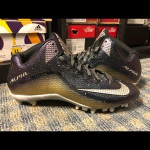 NEW Nike Alpha Strike 2 Size 11 Football Cleats